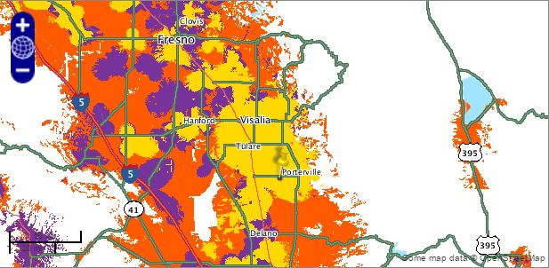 Boost Mobile coverage map